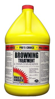 Browning Treatment & Tannin Remover