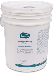 Sporicidin Mold Resistant Coating-CLEAR (5 gallon pail)